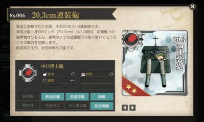 艦隊これくしょん003 20.3cm連装砲