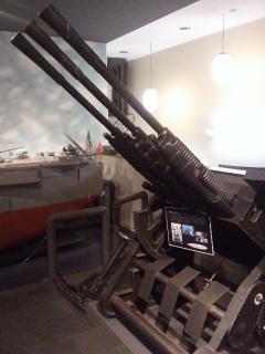 呉旅行033 25mm三連装機銃