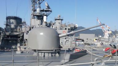 呉旅行046 62口径76mm単装速射砲