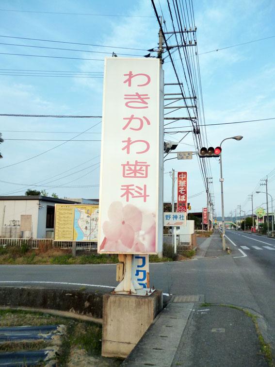 道路沿い電飾1