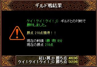 翼Gv 4月22日 VSケイ!ケイ!ケイ!_C様