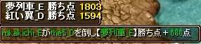 5月10日 翼Gv VS夢列車_E様 2