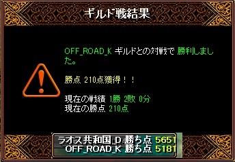 6月16日 ラオスGv VS OFF_ROAD_K様
