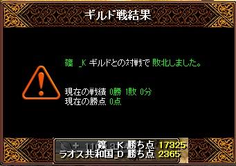 6月13日 ラオスGv VS 篠_K様