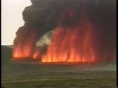 三原山大噴火 噴火直後