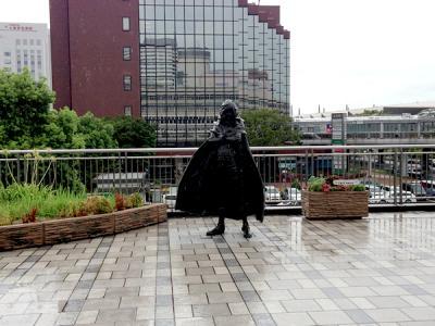 ハーロック銅像
