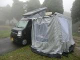 夜明けのキャンプ場 1