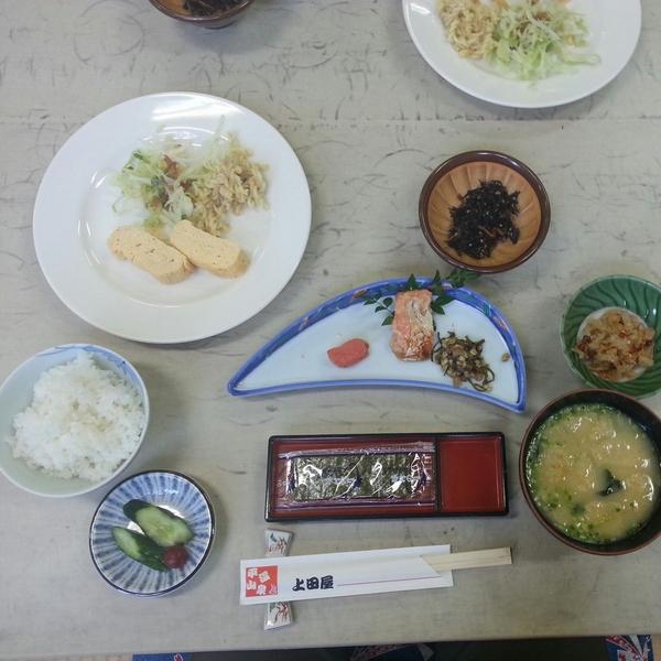 上田屋の朝食