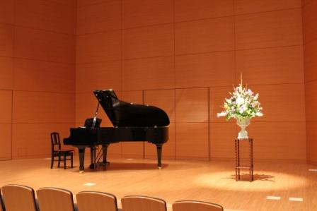 舞台上のお花3