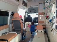 救急車の内部公開