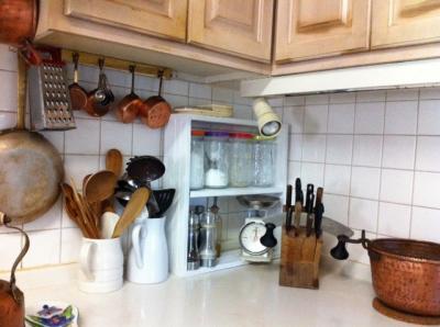 キッチン棚 アフター