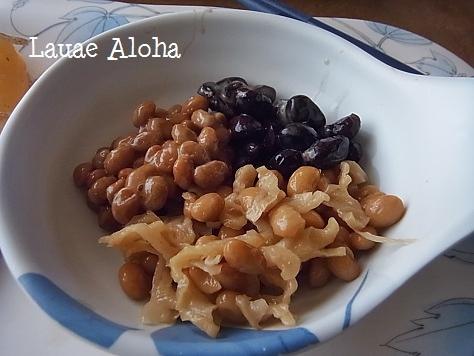 3種類の納豆