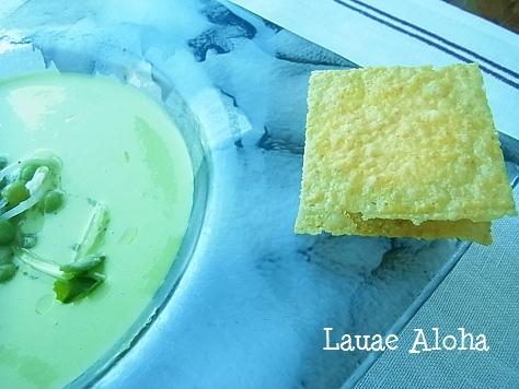 ポレンタとパルメザンチーズ