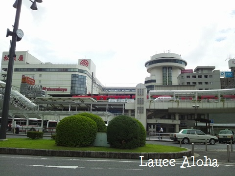 豊田市駅前ロータリー