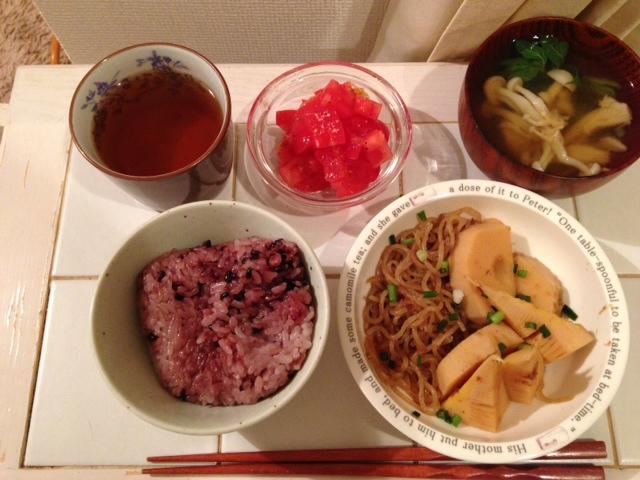 2013・0422筍料理