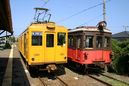 銚電の電車