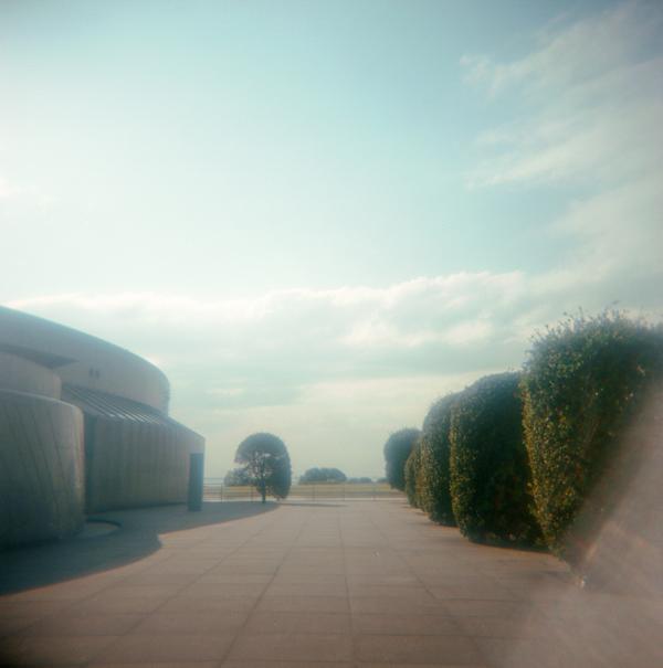 rere◯水族館の外