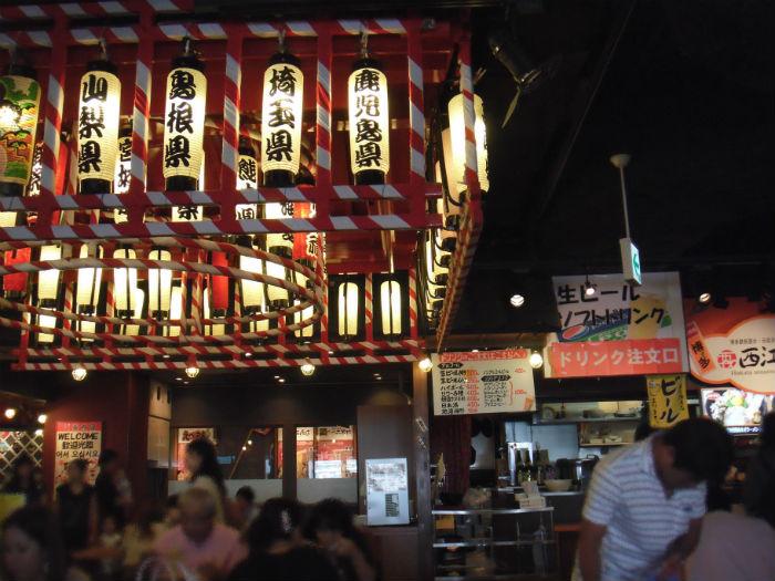 麺祭り アクアシティ イベント会場の様子1