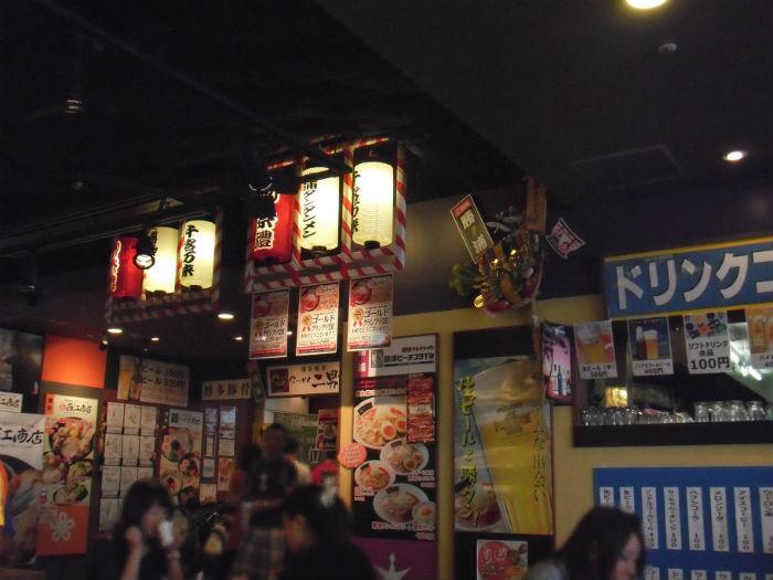麺祭り アクアシティ イベント会場の様子2