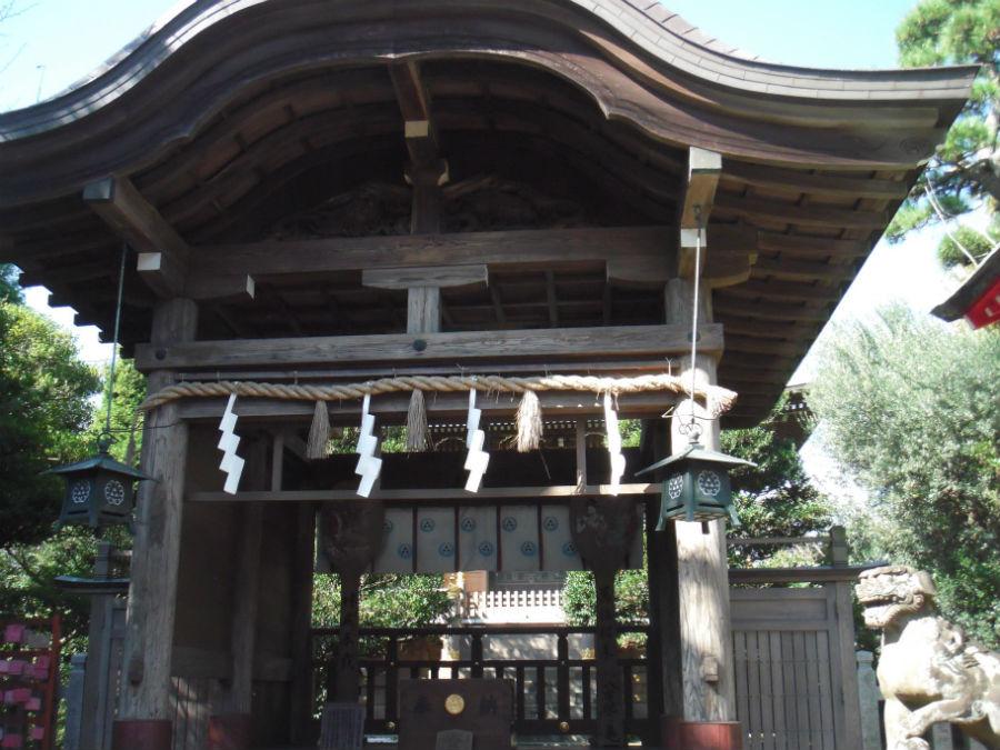 奥津宮 江島神社