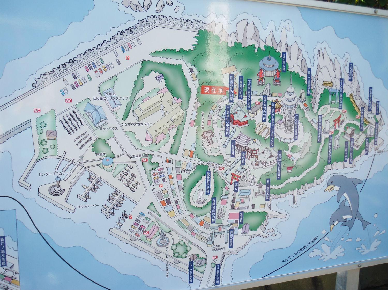 江ノ島 地図