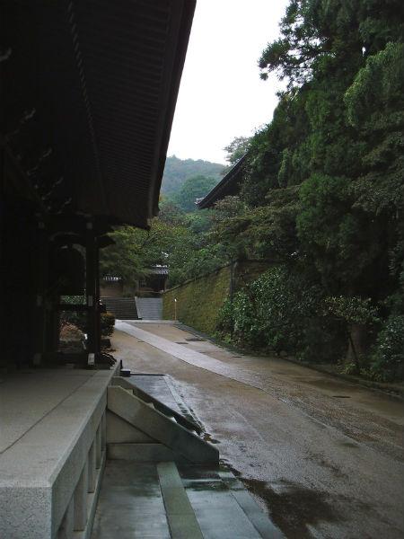 円覚寺 仏殿右裏
