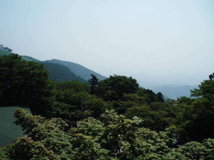 大山 頂上 風景
