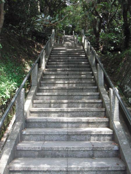 鋸山 日本寺 階段1