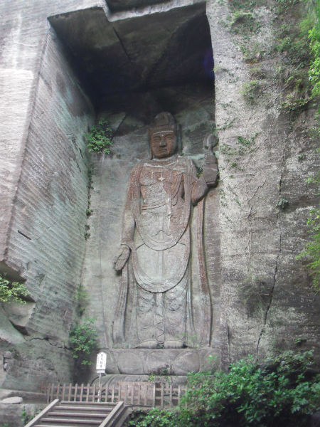 鋸山 日本寺 百尺観音2