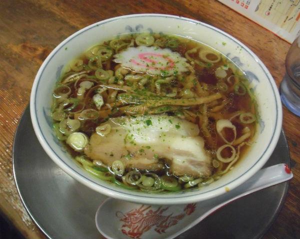 ミニ醤油ラーメン 龍上海本店 横浜ラーメン博物館