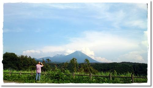 2013・7・31・大山を望むー1