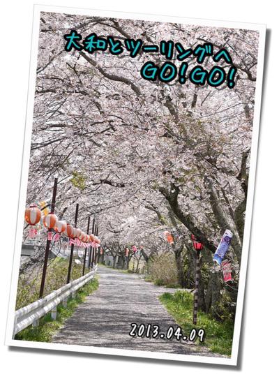2013年4月9日 宇陀周辺の桜ツーリング