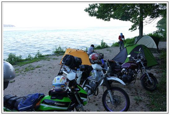 2013年9月17~18日 琵琶湖湖畔キャンプツーリング (5)