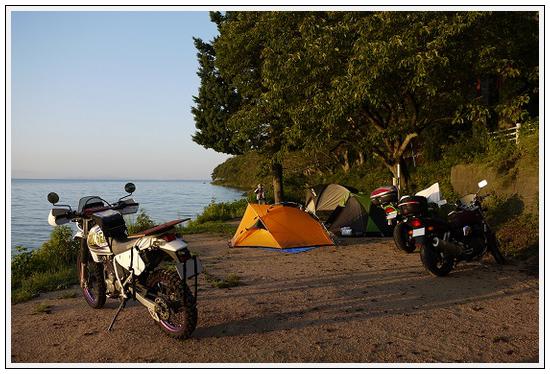 2013年9月17~18日 琵琶湖湖畔キャンプツーリング (13)