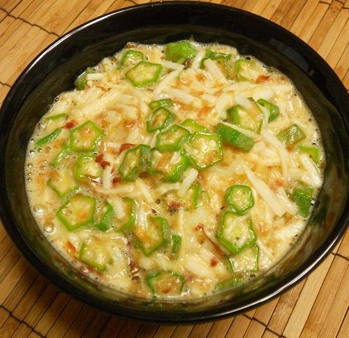 砂肝のコリコリ炒め&ヌルヌルご飯10