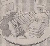 レモンマヨのツナサンド図
