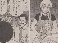 結局お店に通ってみてもツナサンドの謎はとけず、マスターの好意で皿洗いをする代わりに教わる事に。