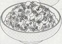 あっさり麻婆豆腐丼図