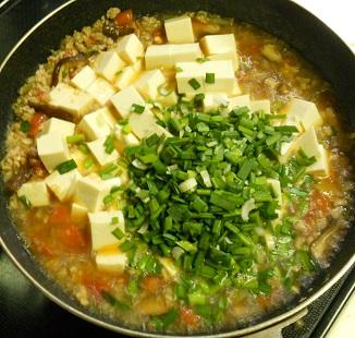 あっさり麻婆豆腐丼6