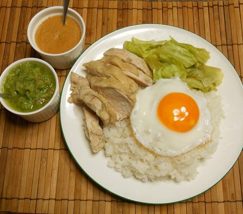 炊飯器で作るアジアンチキンライス11