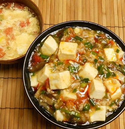 あっさり麻婆豆腐丼8