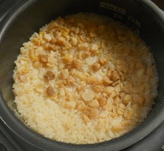 ホタテご飯6