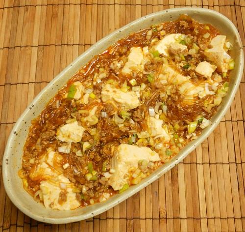 ピリ辛春雨豆腐8