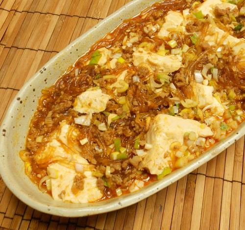 ピリ辛春雨豆腐9