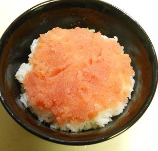 鮭と明太子の他人丼3