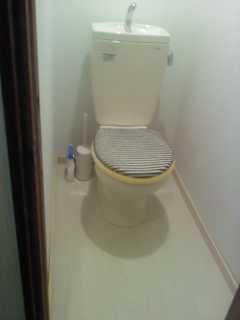 トイレ ほぼ完成