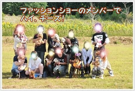 ファッションショーメンバー集合写真
