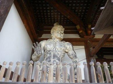 金峯山寺 仁王像2