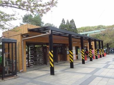 東山動物園 上池門
