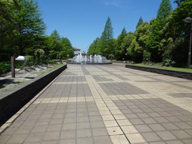 元浜公園の噴水